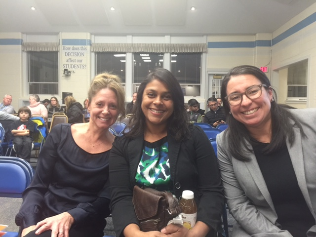 Left to right: Wendy Litzke, Neha Mehta, Rachel Gallegos.